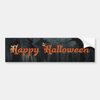 Halloween Field of Death Bumper Stickers