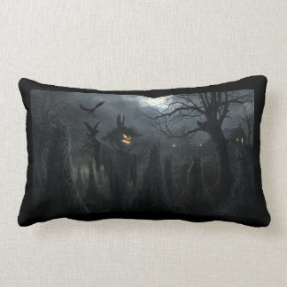 Halloween Field of Death Pillow