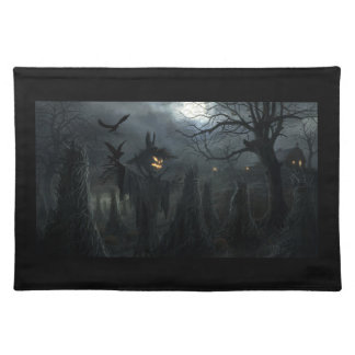 Halloween Field of Death Placemat