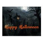 Halloween Field of Death Postcard