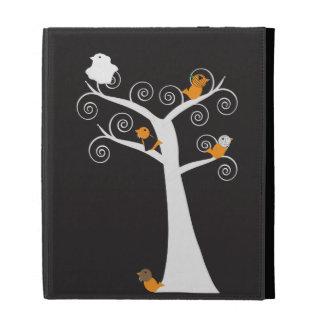 Halloween Five Birds Caseable Case iPad Folio Cover