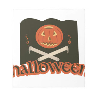 Halloween Flag Notepad