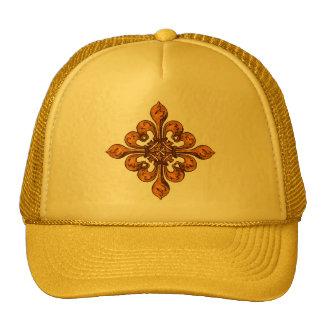 Halloween Fleur de lis Trucker Hat