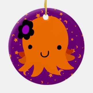 Halloween Flower Octopus Christmas Tree Ornaments