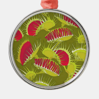 halloween fly trap metal ornament