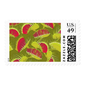 halloween fly trap postage postal stamps