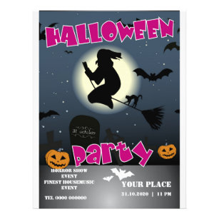 halloween flyers zazzle