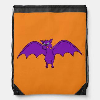 Halloween Flying Bat in Phantom Purple Backpack