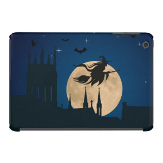 Halloween flying witch iPad mini retina case