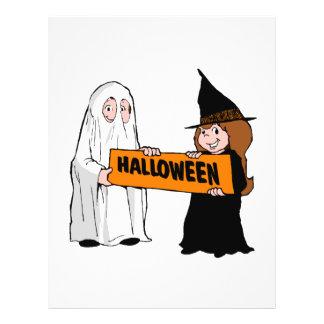 "Halloween Folleto 8.5"" X 11"""