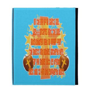Halloween for Christians (Poem) iPad Folio Cover