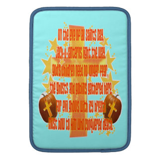 Halloween for Christians (Poem) MacBook Air Sleeve