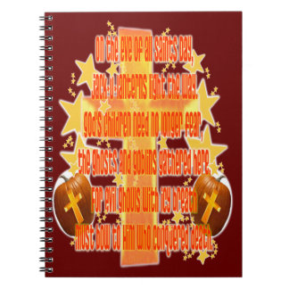 Halloween for Christians (Poem) Note Books
