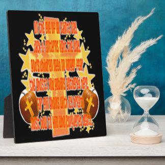 Halloween for Christians (Poem) Plaque