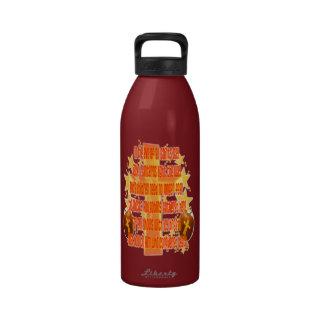 Halloween for Christians (Poem) Reusable Water Bottle
