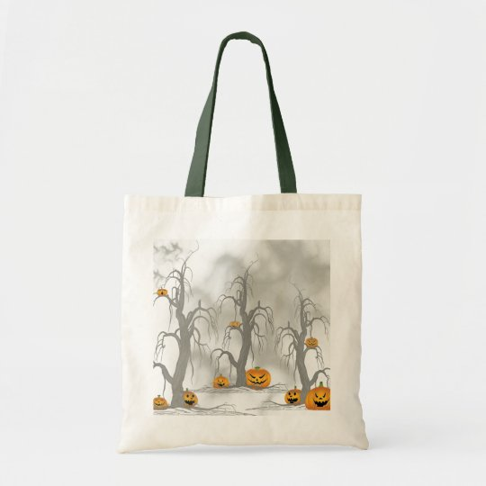 Halloween Forest Tote Bag