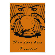 Halloween Fortune Card at Zazzle
