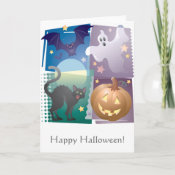 Halloween Foursome card