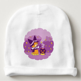 Halloween Fox Witch Summoning Candy Baby Beanie
