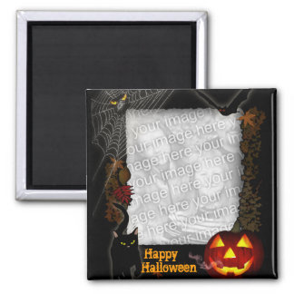 Halloween Frame Magnet