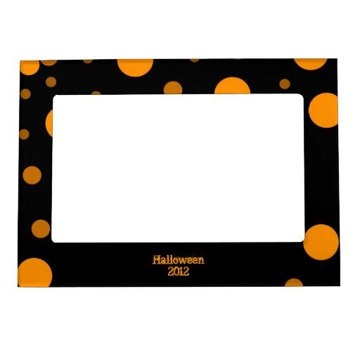 Halloween Frame Frame Magnet