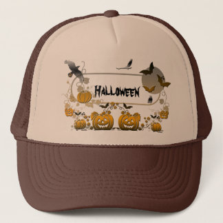 Halloween Frame Trucker Hat