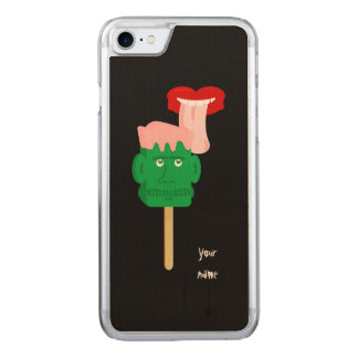 Halloween Frankenstein Ice Block Carved iPhone 7 Case