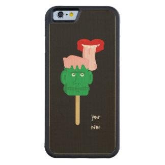 Halloween Frankenstein Ice Block Carved Maple iPhone 6 Bumper Case