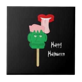 Halloween Frankenstein Ice Block Tile