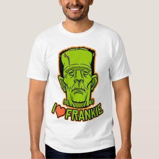 Halloween Frankenstein Ringer T-Shirt