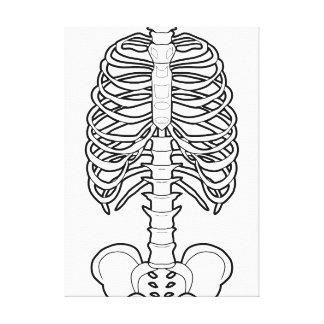 Halloween frecuentado esqueleto impresión en tela