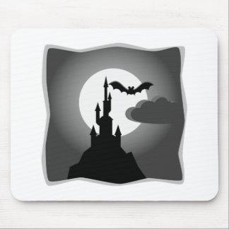 Halloween frecuentó el castillo con el palo tapetes de ratones