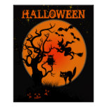 Halloween frecuentó el poster del lugar