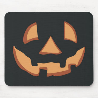 Halloween - free style until face mouse pads