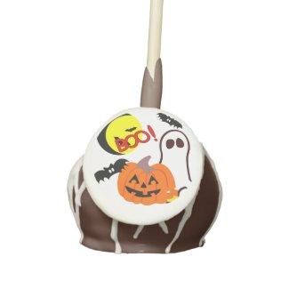 Halloween Friends Cake Pops