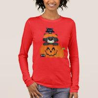 Halloween Friends Holiday womens t-shirt