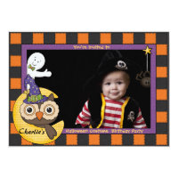 Halloween Friends - Photo Invitation