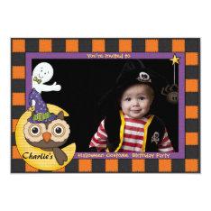 Halloween Friends - Photo Invitation at Zazzle