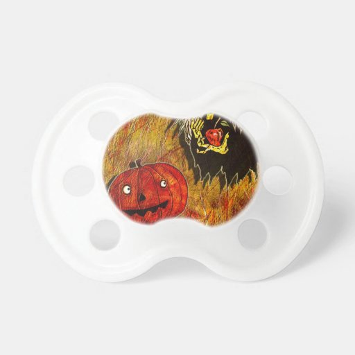 HALLOWEEN FRIGHTS 4.jpg Baby Pacifier