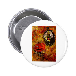HALLOWEEN FRIGHTS 4.jpg Pinback Button