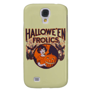 Halloween Frolic vintage Samsung Galaxy S4 Covers