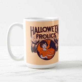 Halloween Frolics pumpkin girl Coffee Mug