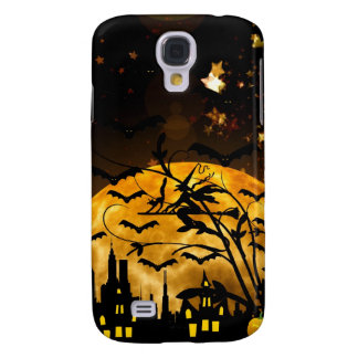 Halloween Full Moon Witch Samsung Galaxy S4 Case