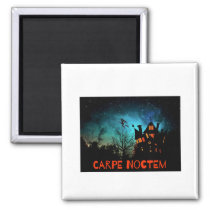 Halloween Fun Carpe Noctem Sieze the Night Magnet