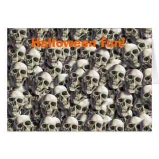 Halloween fun! greeting card