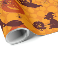 "Halloween Fun Matte Wrapping Paper, 30"" x 15' Wrapping Paper"