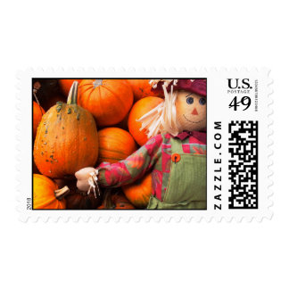 Halloween Fun Postage Stamps