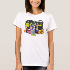 Halloween Fun With Friends T-shirt at Zazzle