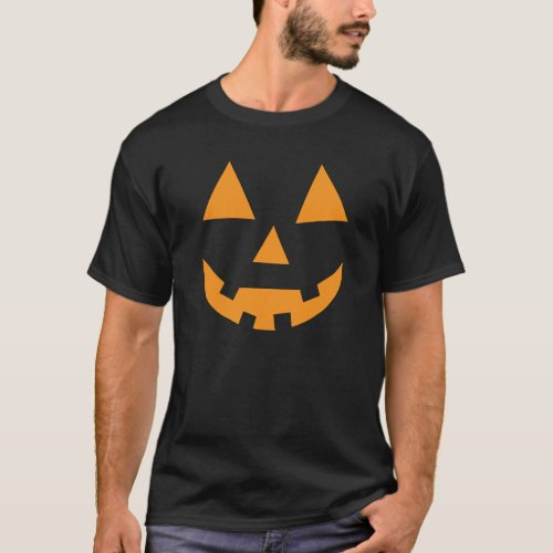 Halloween funny  jack o lantern pumpkin T_Shirt