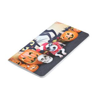 Halloween - galgo italiano - Waldo Cuadernos